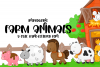 Farm Animals - A Cute Hand-Lettered Font example image 1