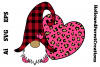 Valentines Gnome with Leopard example image 1