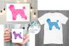 Poodle, Dog Mandala, Animal Mandala SVG Cut File example image 2