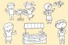 Lemonade Stand Digital Stamps example image 3