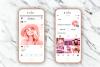 Pink presets rose mobile lightoom pastel presets filter example image 2