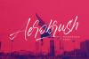 Aerobrush Font example image 1