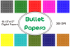 Bullet Papers example image 1