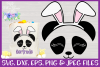Easter | Panda Face SVG Cut File example image 1