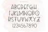 All The Thangs - A Handmade Letter & Doodle Font - Teaching example image 10