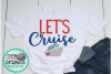 let's cruise svg,cruise svg,ship svg,cruising vacation svg example image 1