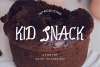 Kid Snack - A Playfull Font example image 1
