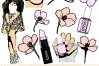 Spring Fling Clipart Collection  example image 1