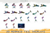 Mermaid tail, tails, overlays, Clipart, PNG, example image 5
