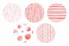 20 Seamless Watercolor Patterns Red example image 5