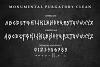 Monumental Purgatory - 3 Awesome Deathmetal Fonts example image 8
