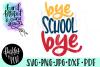Last Day of School SVG - Kids Shirt Design example image 1