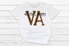 Virginia VA State Leopard Bundle example image 3
