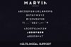 Marvin - 3 font styles example image 11