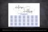 Wedding Seating Chart Template Welcome Wedding Seating Chart example image 4
