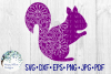 Woodland Animal Mandala Bundle, Fox, Deer, Bear, Moose SVG example image 9