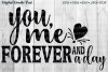 You, Me, Forever and a Day by Digital Doodle Pad example image 1