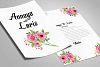 Double Sided Wedding Invitation Card example image 1