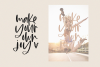 Maybe - Script Font with Doodles example image 5