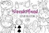 Wonderland Story Book Digital Stamps example image 1
