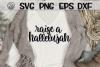 Raise A Hallelujah - Script- SVG DXG PNG EPS example image 1