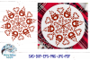 Hot Cocoa Mandala SVG | Winter Mandala SVG Cut File example image 1