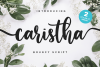 Caristha -bouncy script- example image 1