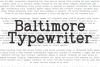 Baltimore Typewriter - SUPER PACK PROMOTION !  example image 2