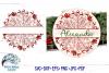 Split Christmas Mandala SVG   Christmas SVG Cut File example image 2