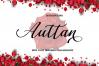 Auttan Script Calligraphy Font example image 2