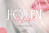Hollen Amare Font Duo - free logo template example image 1