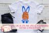 Basketball Bunny - Easter SVG, DXF, AI, EPS, PNG, JPEG example image 1