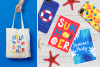 12 Summer Cards & Bonus Patterns example image 5