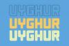 Uyghur - Retro Font example image 2