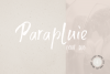 Parapluie Font Duo plus 6 Logos & Extra swashes example image 1