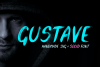 Gustave SVG Font example image 1