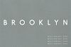 Brooklyn | Two Weight Font Family example image 1