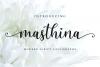 Masthina - Modern Calligraphy example image 1