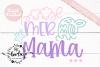 Mer Mama SVG Cutting File Mermaid Mom EPS DXF PNG example image 1