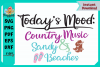 Today's Mood Country Music and Sandy Beaches example image 2