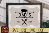 Dads BBQ SVG EPS DXF Cut file example image 1
