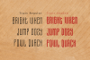 Typis Layered Font example image 3