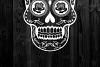 Sugar Skull SVG cut file example image 6