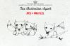 FOX illustration clipart set example image 1