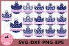 Christmas Angels Svg, Christmas Angel Split Monogram Frame example image 1