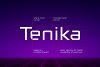 Tenika | Minimal & Squarish Techno Type example image 9