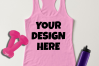 Ladies Tank Top Mockups - 20|Front/Back|PNG example image 11