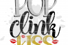 Pop Clink Kiss - New Year's SVG example image 2