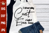 I literally can't even, Funny trendy quote svg cut file dxf example image 1