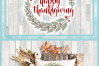 Happy Thanksgiving with Wreath SVG example image 4